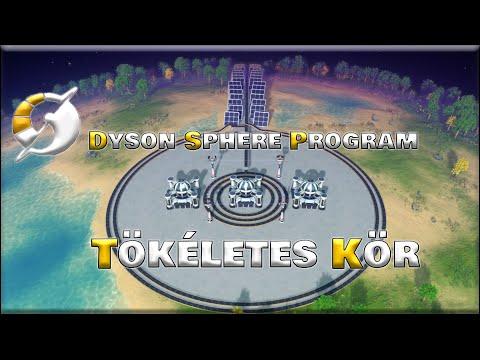 A Tökéletes Kör   Dyson Sphere Program