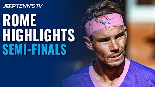 Novak Djokovic vs Lorenzo Sonego; Rafa Nadal vs Reilly Opelka | Rome 2021 Semi-Final Highlights