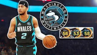 NBA 2K20, but everyone is a G-League player | Washington White Whales MyLeague Expansion Ep. 1 (S1)