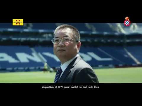 """""""Sé que he encertat venint a Catalunya"""" testimoni de Chen Yansheng, president del RCD Espanyol"""