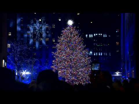 Watch the 2019 Rockefeller Center Christmas Tree Light Up for the Holidays