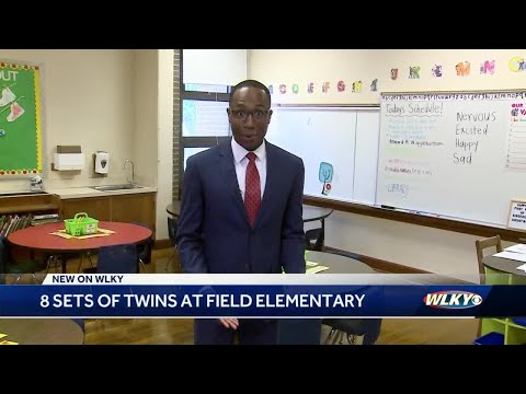 Seeing double: This Louisville school has 8 sets of twins in Kindergarten