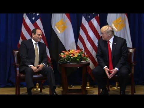 ترامب التقى السيسي على هامش أعمال الجمعية العامة للأمم المتحدة في نيويورك