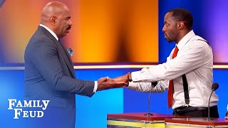 Let's get NAKED... and play HOT HANDS! | Family Feud