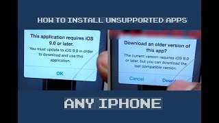 How to Install Unsupported Apps on iOS 8 iOS 7.1.2 or iOS 6  Any iPhone (No Jailbreak)