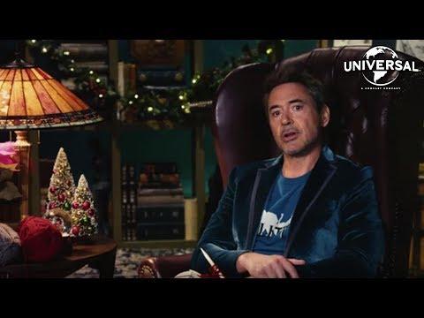 LAS AVENTURAS DEL DOCTOR DOLITTLE - Robert Downey Jr. felicita la Navidad