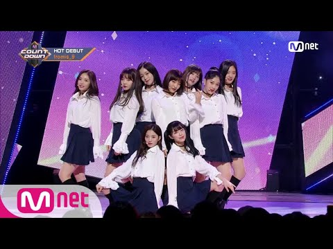 [fromis_9 - Miracle] Debut Stage | M COUNTDOWN 180125 EP.555