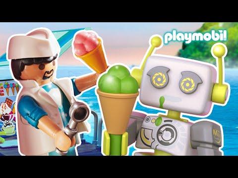 ROBert beantwortet wie Eis gemacht wird | PLAYMOBIL Film für Kinder