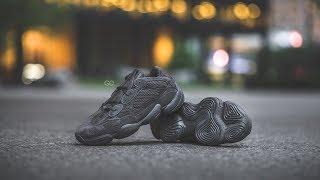 "Unboxing & On-Feet: Adidas Yeezy 500 ""Utility Black"""