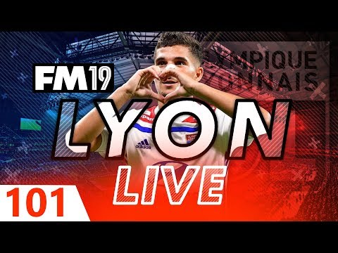 Football Manager 2019 | Lyon Live #101: Europa Dream Begins #FM19