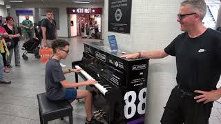 Hearing My Doppelganger At A Public Piano