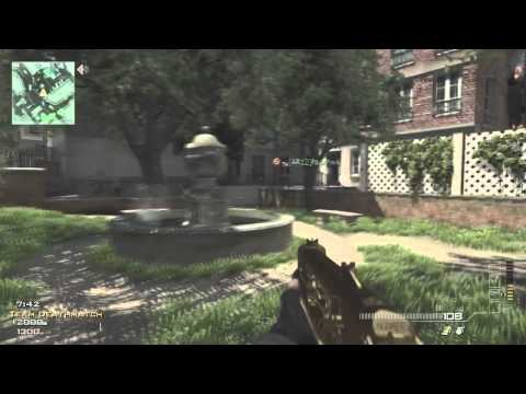 "Call of Duty MW3 Gameplay - TD on Resistance 18-8 ""My Golden PP"""