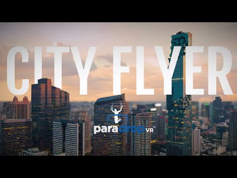 ParadropVR: con City Flyer la realtà virtuale prende il volo