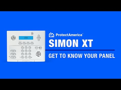 Getting to Know the Simon XT Control Panel - Protect America