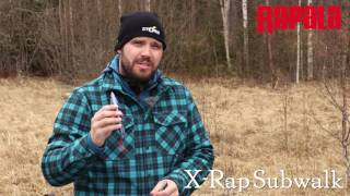 Rapala X-Rap Subwalk