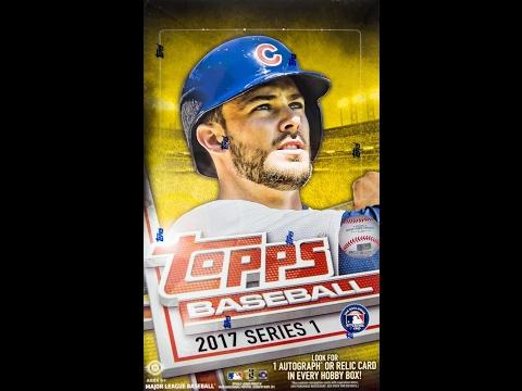 Box Busters: 2017 Topps Baseball