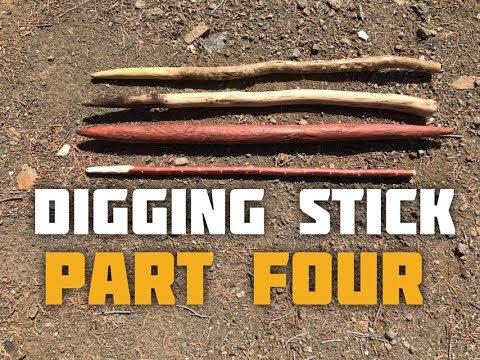 Digging Stick (Part 4 of 4) Digging a Rain Catch
