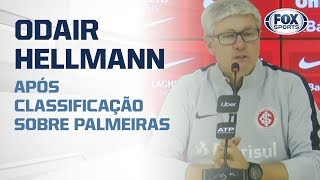 COLORADO CLASSIFICADO! Odair Hellmann fala ao vivo após classificação sobre Palmeiras