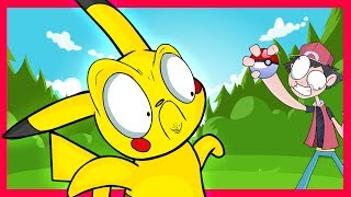 PIKACHU BANISHED TO BILL'S PC?!?! (Pokémon Parody) - @Crunchlins