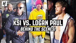 KSI vs. Logan Paul 2 feat. JUSTIN BIEBER | EXCLUSIVE BEHIND THE SCENES!!!