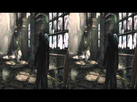 (3D & 4K) Devil May Cry 3840x2160 Mission 2 Home Truth (Ultra HD) Oculus Rift