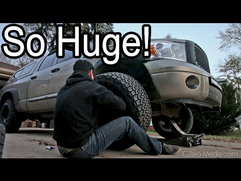 35INCH TIRES!  - Project Asian Redneck Ram #8