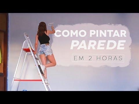 DIY – Como pintar Parede em 2h, MTO fácil!