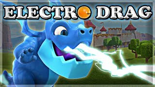 NEW Electro Dragon GAMEPLAY | Clash Royale 🍊