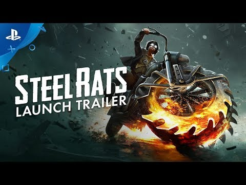 Steel Rats - Launch Trailer | PS4