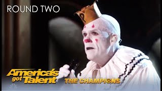 @Puddles Pity Party Is BACK To Find love on @America's Got Talent Champions