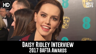 Daisy Ridley Interview - BAFTA Awards 2017