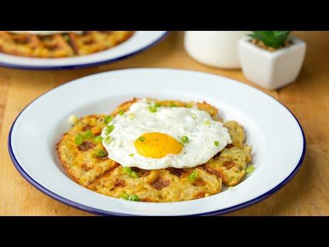 Hash-Brown Waffles ? Tasty