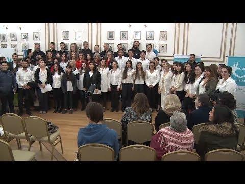 Magdalena Ametrano, Claudio Videla y Romina Vacca
