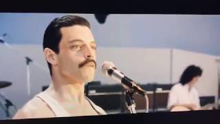 Crazy Little Called Love - Live Aid - Bohemian Rhapsody (movie ) | complete