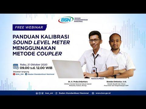 https://www.youtube.com/watch?v=pKB8jVFN2Bk&feature=youtu.bePanduan Kalibrasi Sound Level Meter Menggunakan Metode Coupler