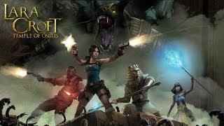 Lara Croft heading to the Temple of Osiris