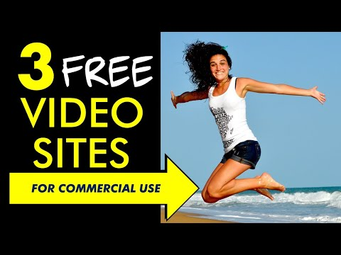 3 Video Websites You Can Use for YouTube (Or Any Commercial Project)