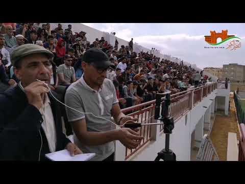 أجواء مقابلة النادي الرياضي القصري ـ شباب أصيلة