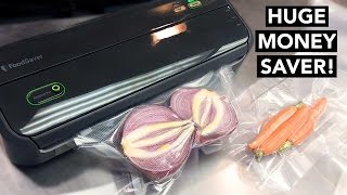 Best FoodSaver Vacuum Sealer Review - KITCHEN LIFE HACKS!