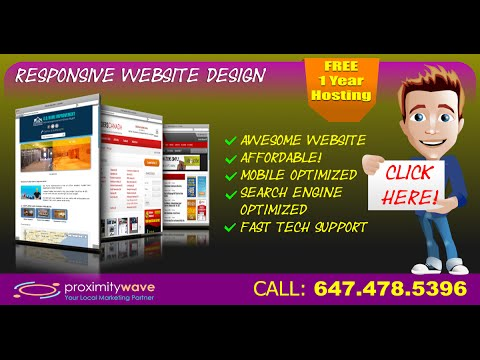 Affordable Web Design In Toronto - Mobile Responsive Website Design