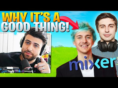 What People DONT Get About Streamers Moving To Mixer! (Shroud Joins Ninja) - Fortnite Chapter 2