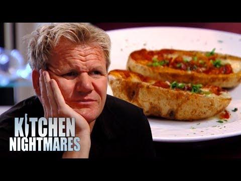 Chef Serves Gordon 3 WEEK OLD Baked Potato   Kitchen Nightmares
