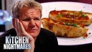 Chef Serves Gordon 3 WEEK OLD Baked Potato | Kitchen Nightmares