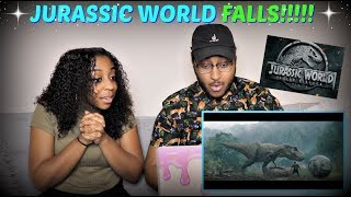 Jurassic World: Fallen Kingdom - Official Trailer REACTION!!!