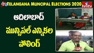 Telangana municipal elections start amid tight security..