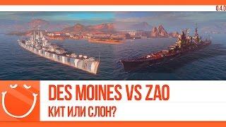 Des Moines vs Zao Кит или слон?