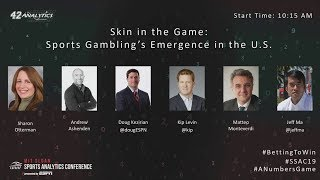 SSAC19: Skin in the game: Sports Gambling's Emergence in the US