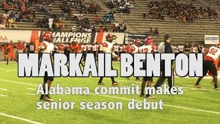 Watch Alabama commit Markail Benton vs Hoover