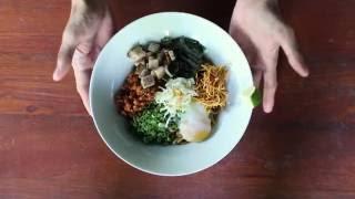 Japanese Food | Mazesoba Ramen