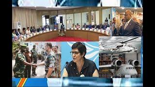 EYINDI NA CONSEIL MINSTRES,VIDEO-PILOTE ONU CHERCHE L'AVION, FARDC-USA PREPARE CONTRE ADF A BENI